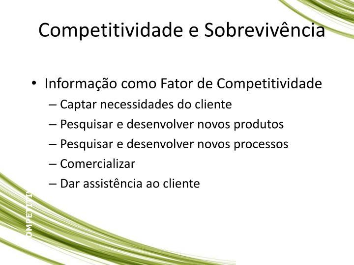 Competitividade e Sobrevivncia