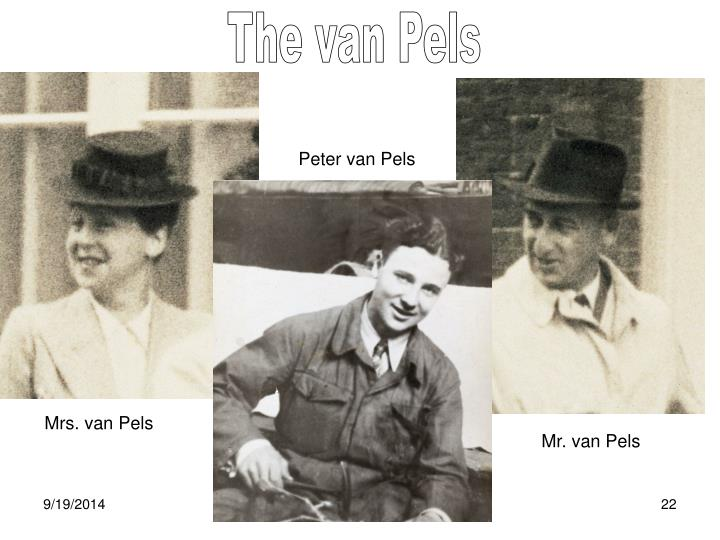 The van Pels