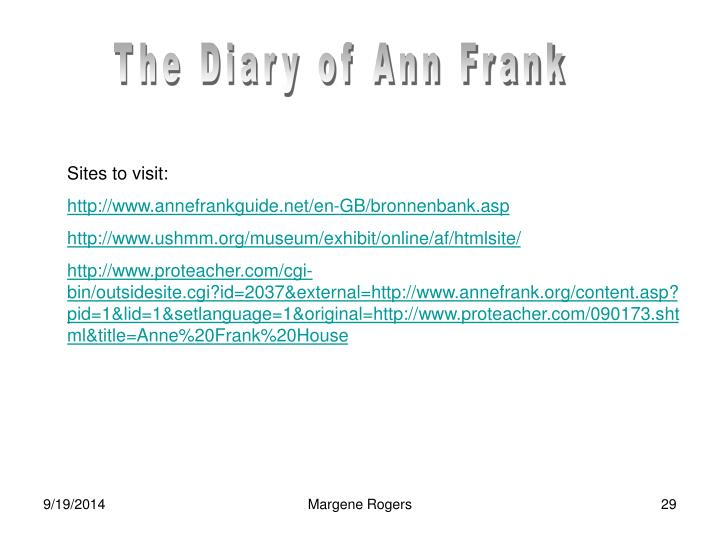 The Diary of Ann Frank