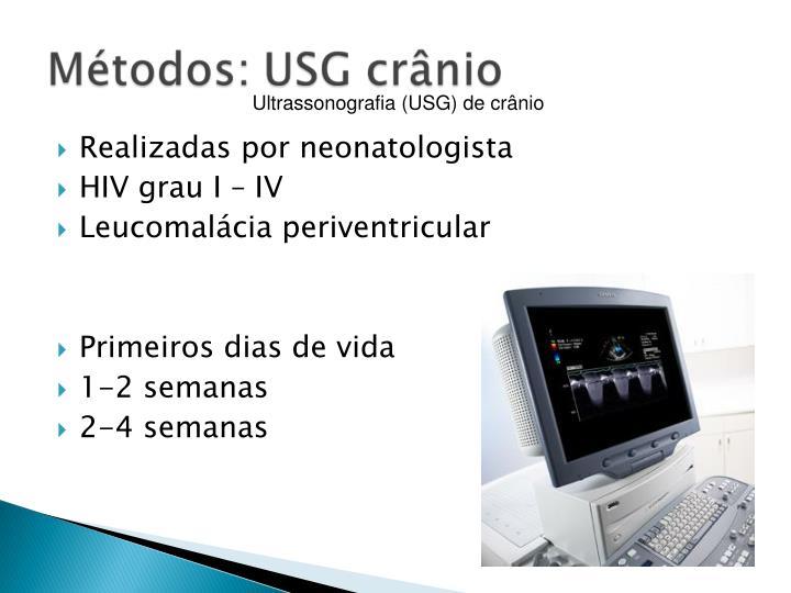 Ultrassonografia (USG) de crnio