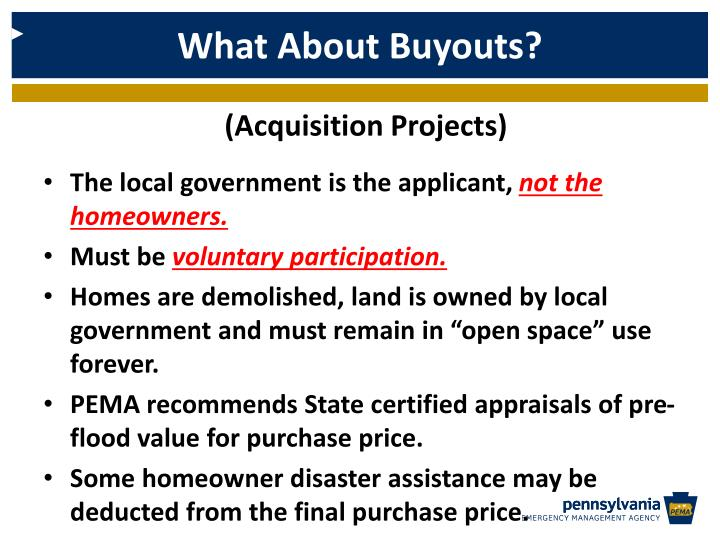 What About Buyouts?
