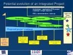 potential evolution of an integrated project