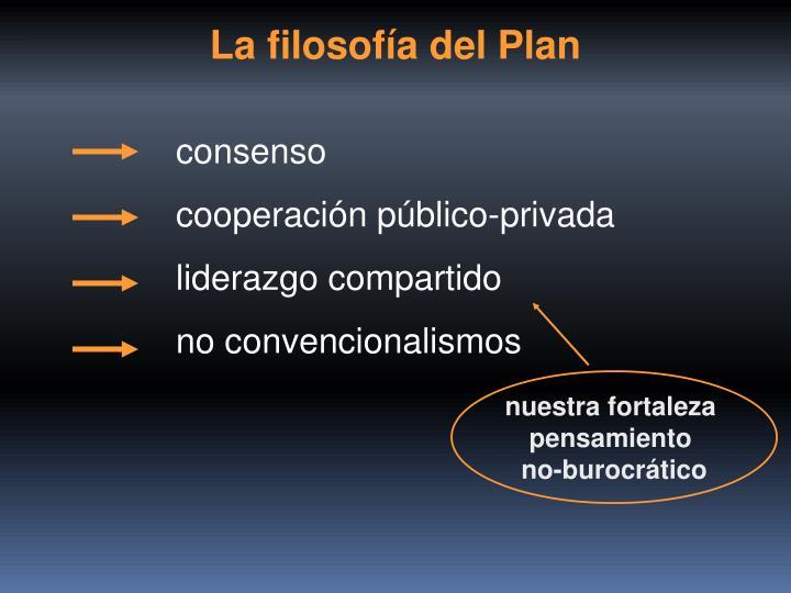 La filosofía del Plan