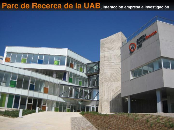 Parc de Recerca de la UAB
