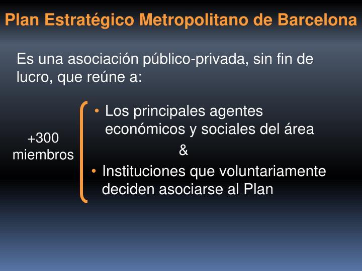 Plan Estratégico Metropolitano de Barcelona