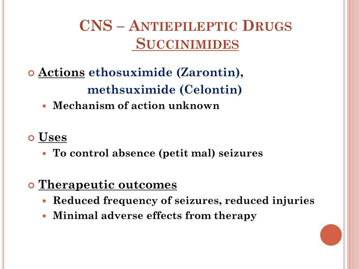 CNS – Antiepileptic Drugs
