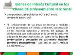 bienes de inter s c ultural en los planes de ordenamiento territorial1