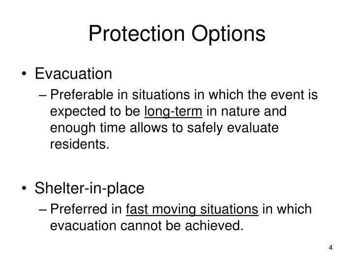 Protection Options