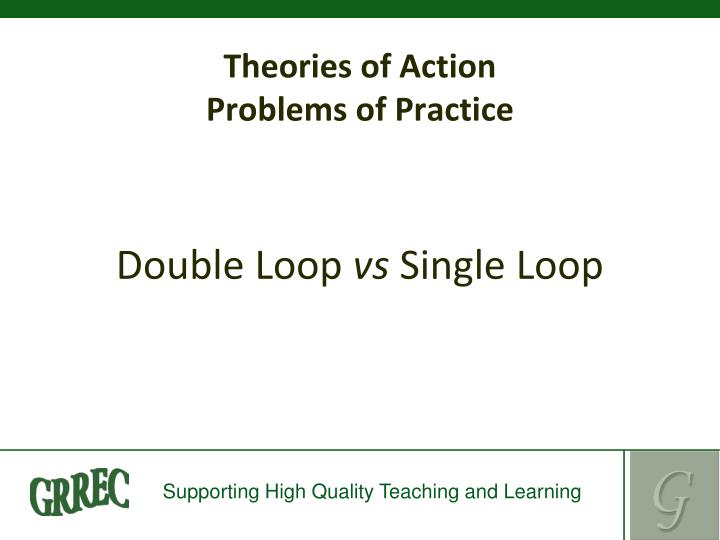 Theories of Action