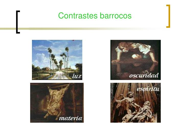 Contrastes barrocos