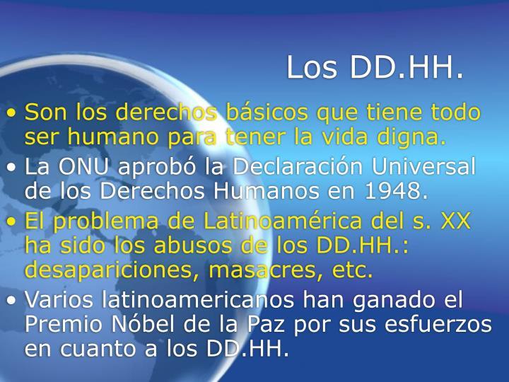 Los DD.HH.