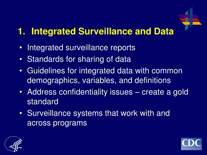 1. Integrated Surveillance and Data