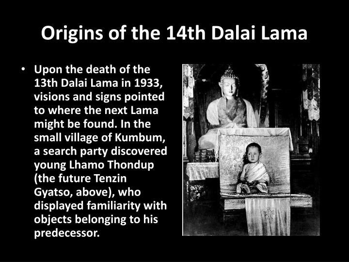 Origins of the 14th Dalai Lama