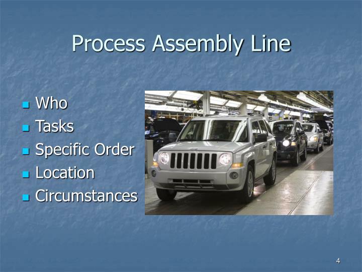 Process Assembly Line