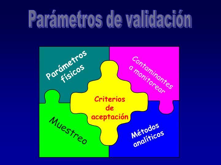 Parámetros físicos