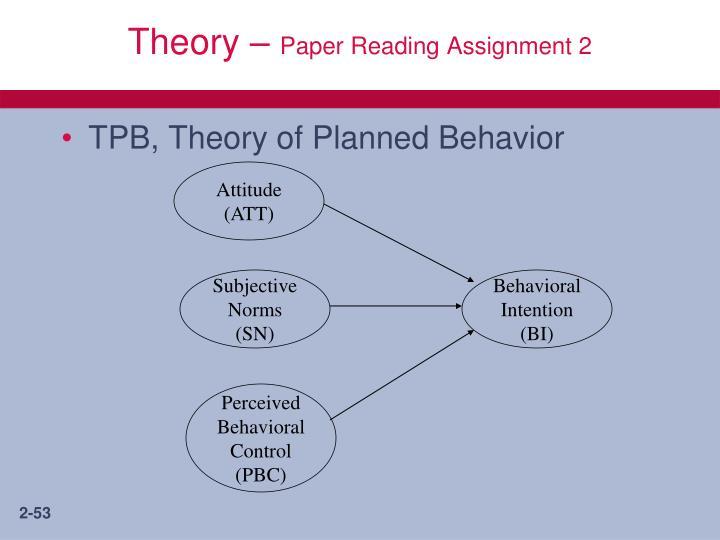 Theory –