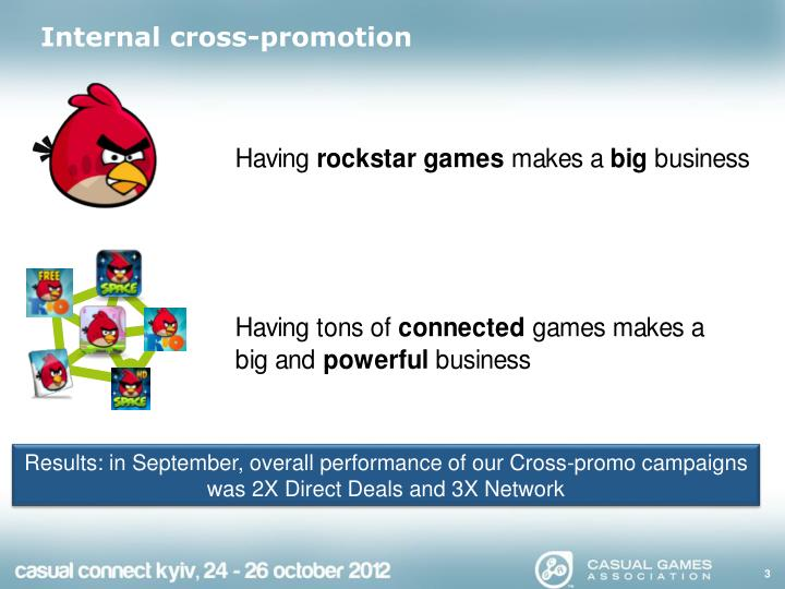 Internal cross promotion1
