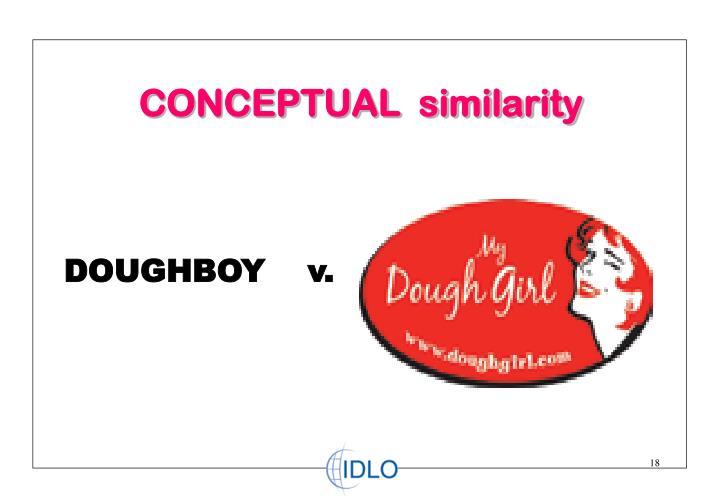 CONCEPTUAL  similarity