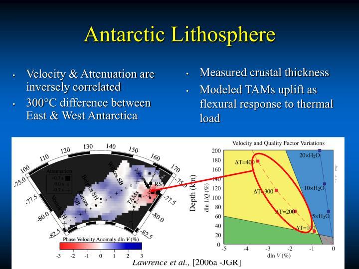 Antarctic Lithosphere