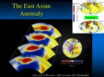 the east asian anomaly1