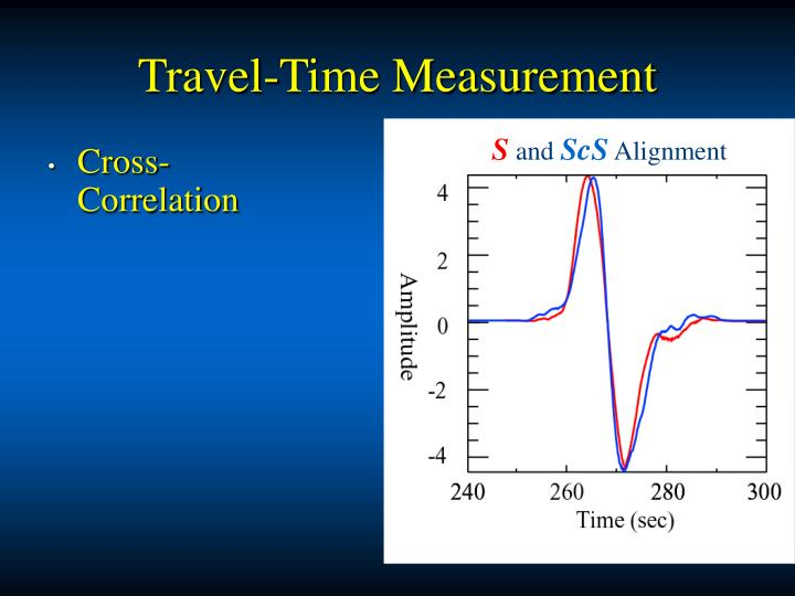 Travel-Time Measurement