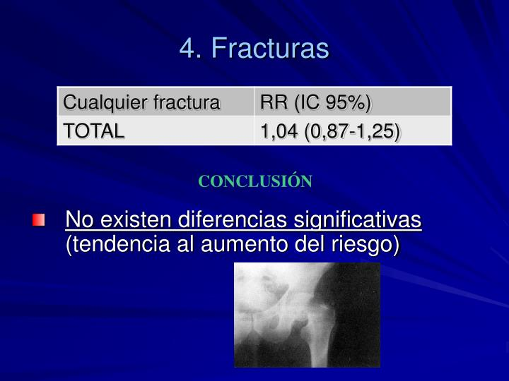 4. Fracturas