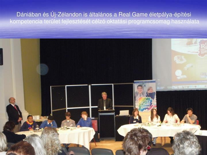 Dániában és Új-Zélandon is általános a Real Game életpálya-építési