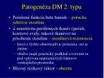 patogen za dm 2 typu