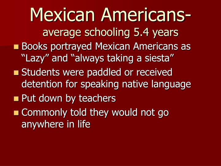 Mexican Americans-