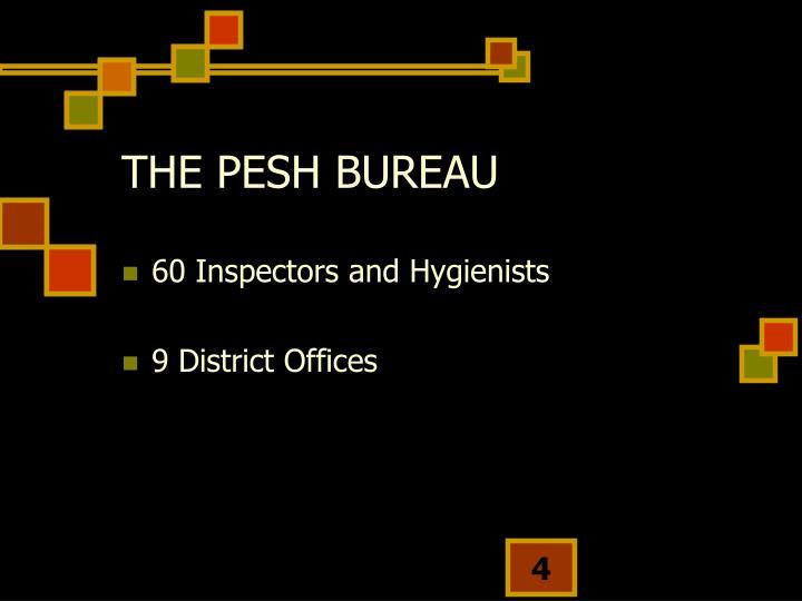 THE PESH BUREAU