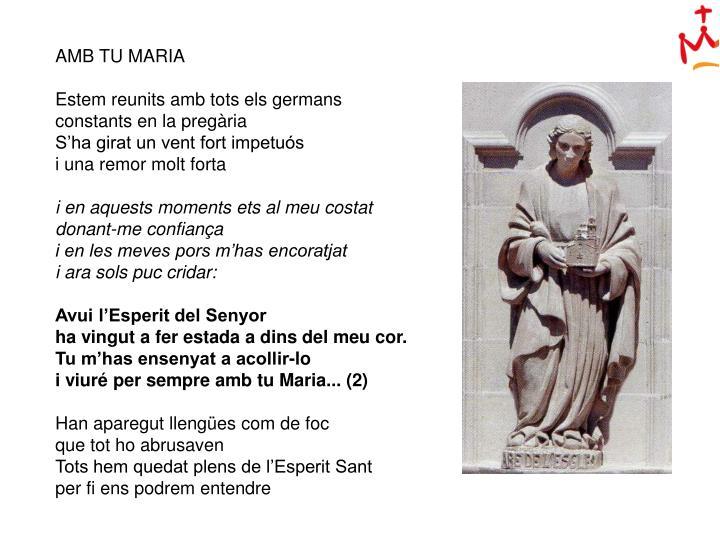 AMB TU MARIA
