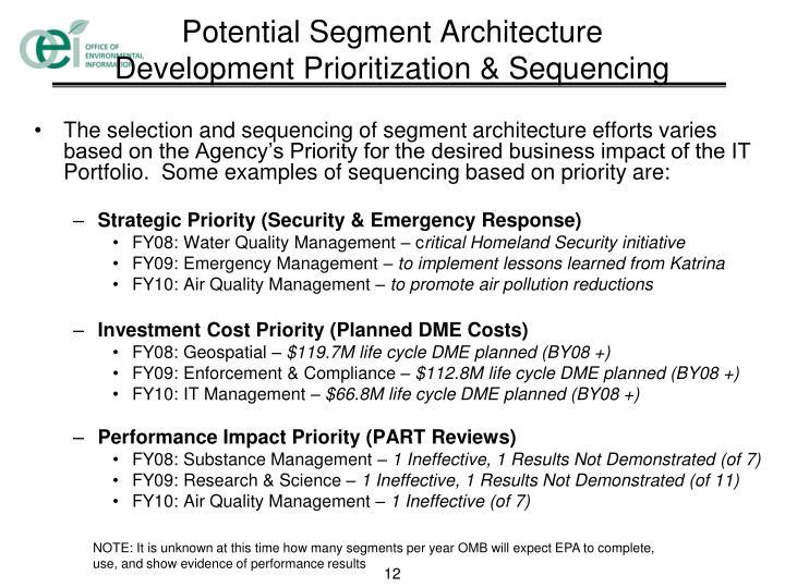 Potential Segment Architecture