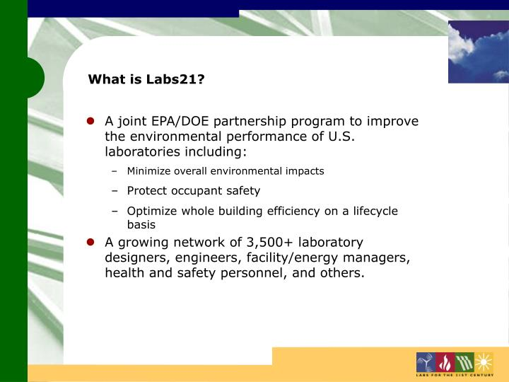 What is Labs21?