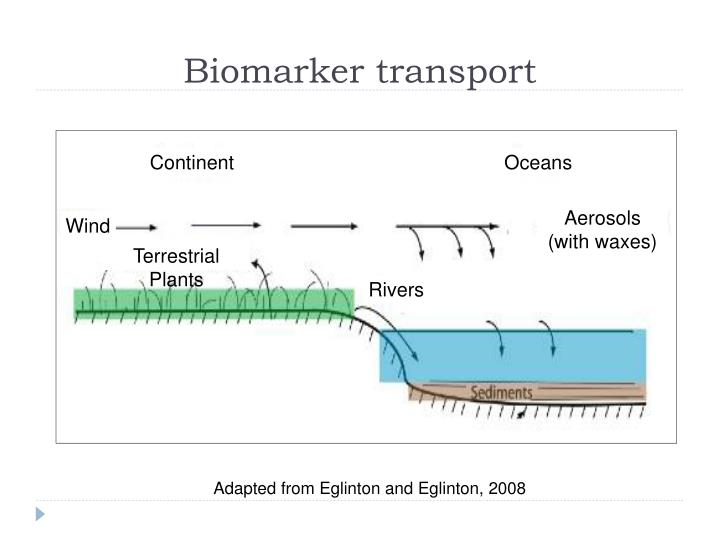 Biomarker transport