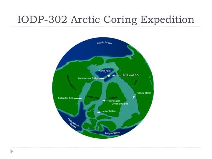 IODP-302 Arctic Coring Expedition