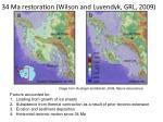 34 ma restoration wilson and luyendyk grl 2009
