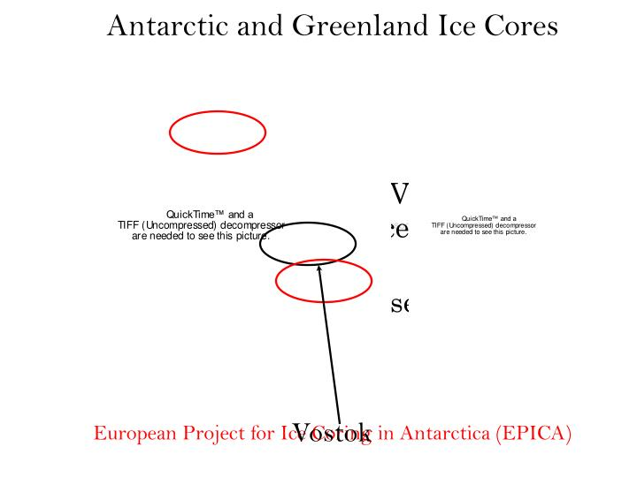 Antarctic and Greenland Ice Cores