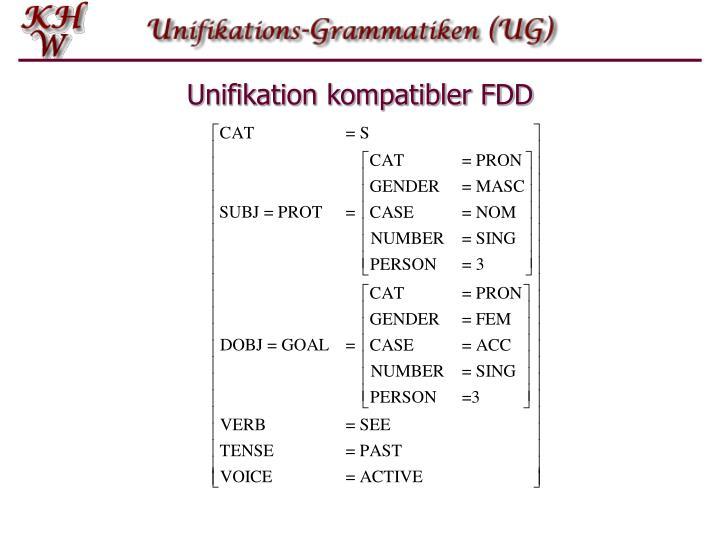 Unifikation kompatibler FDD