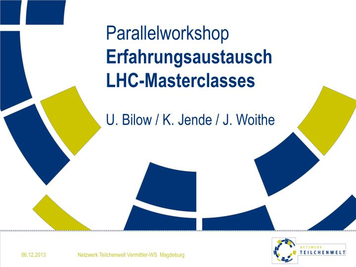 Parallelworkshop