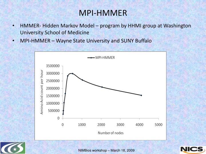 MPI-HMMER