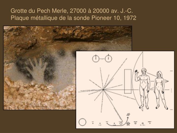 Grotte du Pech Merle, 27000 à 20000 av. J.-C.