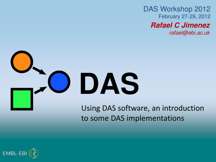 DAS Workshop 2012