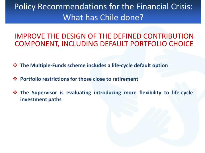Policy Recommendations for the Financial Crisis: What has Chile done?