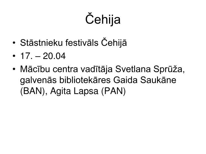 Čehija