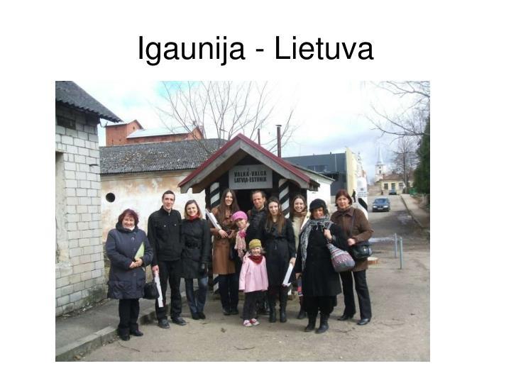 Igaunija - Lietuva