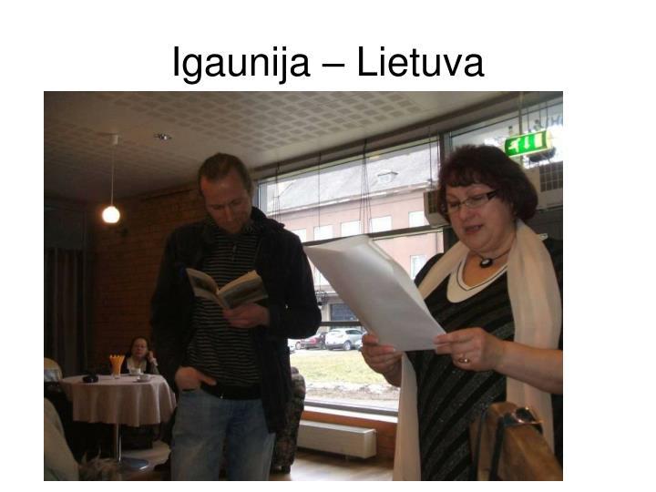 Igaunija – Lietuva