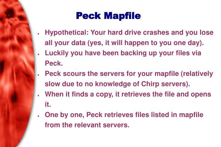 Peck Mapfile