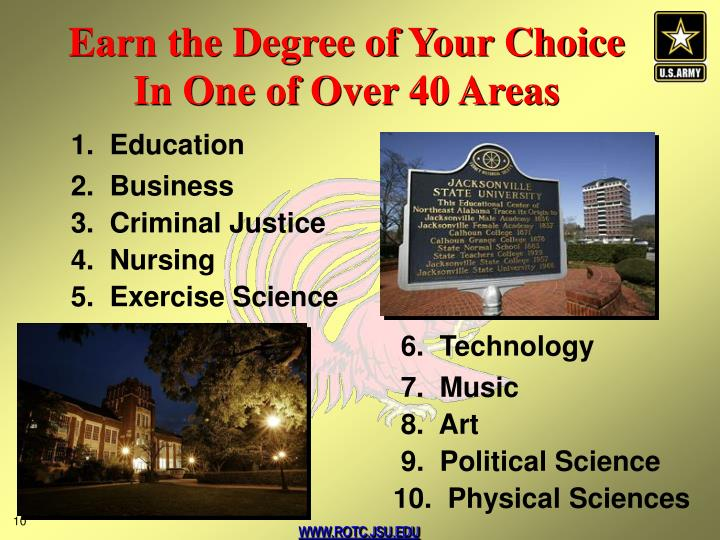 Earn the Degree of Your Choice