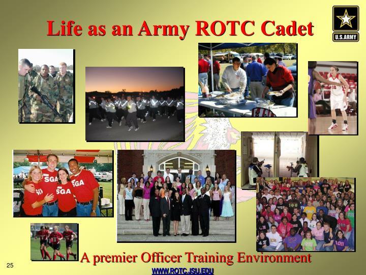 Life as an Army ROTC Cadet