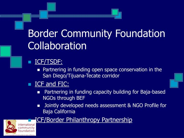 Border Community Foundation Collaboration